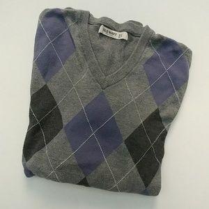 Old Navy Argyle Sweater sz Large
